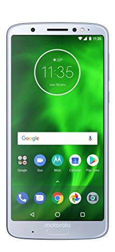"Motorola Moto G6 Plus -2 SIM, Smartphone 64 Gb,5.9"" Full HD+ (Android 8.0 Oreo, 4 GB, 2 Cámera 12 MP y 5 MP, Dual Autofocus Pixels, TurboPower, Qualcomm Snapdragon 630), Argento (Nimbus)"