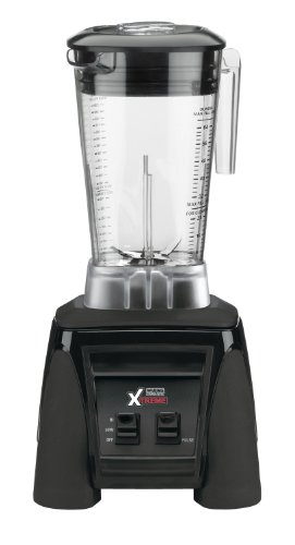 Waring Commercial MX1000XTX 3.5 HP Blender with Paddle Switches, Pulse Feature and a 64 oz. BPA Free Copolyester Container, 120V, 5-15 Phase Plug
