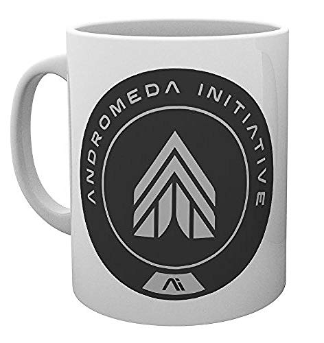 GB Eye LTD, Mass Effect Andromeda, AI Logo, Taza