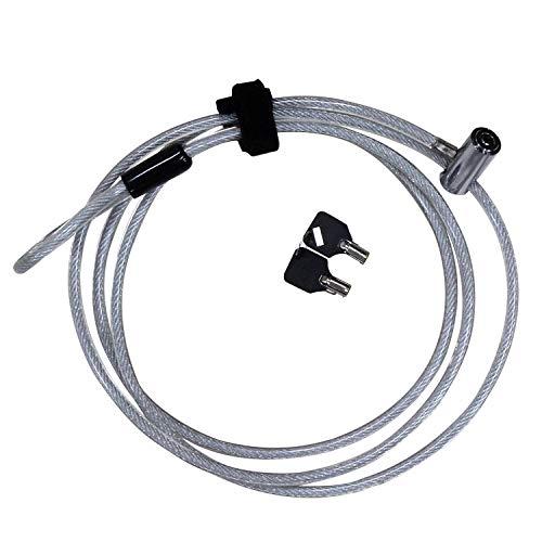 和気産業 フリ-ワイヤ-ロック IB-144 自転車、脚立の保管に最適