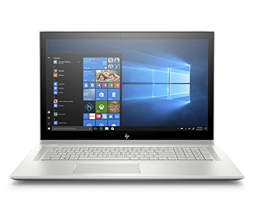 HP Envy 17-bw0001ns - 17,3 inch Full HD notebook (Intel Core i7-8550U, 16GB RAM, 1TB HDD + 128GB SSD, NVIDIA GeForce MX 150, Windows 10) zilver - Spaans QWERTY-toetsenbord