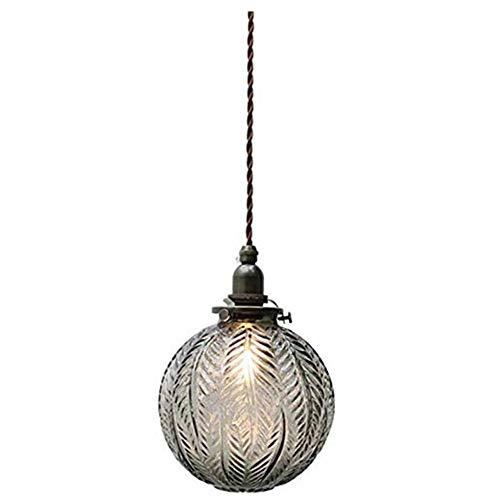 HSLJ1 Luz de techo de una sola cabeza accesorios, suspensión cristalina creativa del balón colgado de época industrial lámpara linterna de la decoración interior iluminación dormitorio de la lámpara d