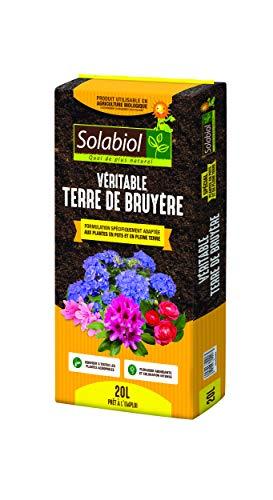 Solabiol VERITABLE Terre DE Bruyere 20 litres TERBRUY20
