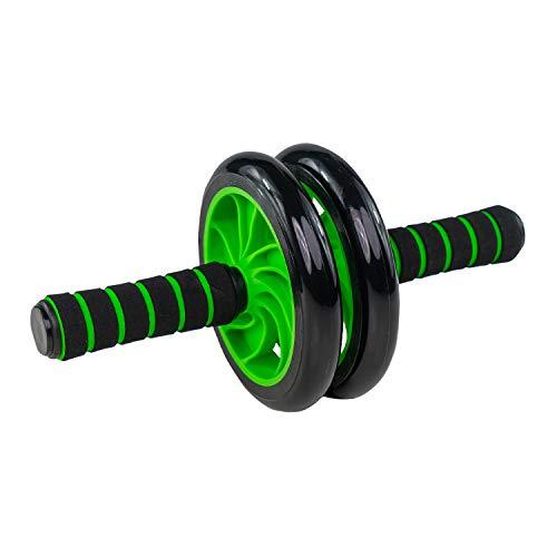 Jung & Durstig AB Wheel Bauchroller | Bauchmuskeltrainer, Fitnessgerät zur Stärkung der Bauchmuskulatur