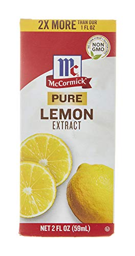 McCormick Pure Lemon Extract, 2 Fl Oz (Pack of 1)