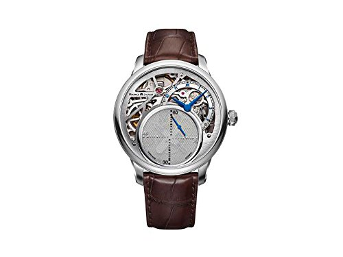 Maurice Lacroix Masterpiece Mysterious Seconds Automatik Uhr, ML 215, Silber