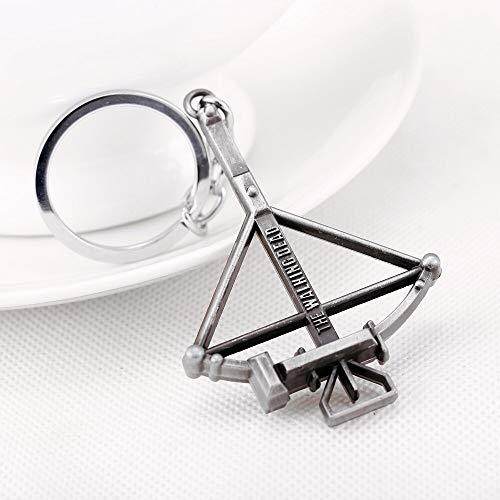 MINTUAN Schlüsselbund Schlüsselring Die Walking Dead Armbrust Keychain Metall Schlüsselanhänger Für Geschenk Chaveiro Schlüsselanhänger Schmuck Für Autos