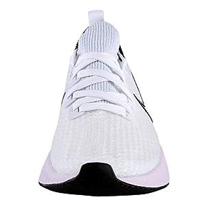 Nike React Infinity Run Flyknit Women's Running Shoe White/Black-ICED Lilac-Pistachio Frost Size 9