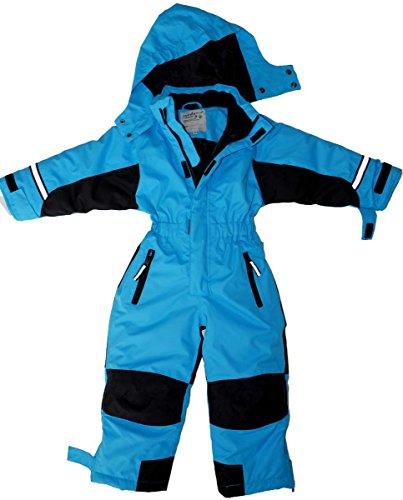 Maylynn - Softshell Skianzug Schneeanzug Blau, Größe:98