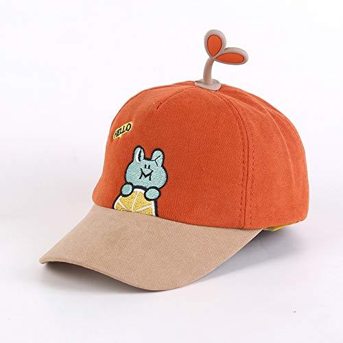 wtnhz Gorra para bebé, Sombrero para el Sol de Verano, versión Coreana, Gorra de béisbol para niños con Bordado de Dibujos Animados Super Lindo Lindo, Marea