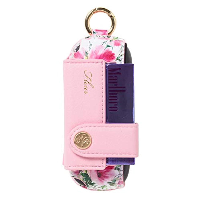 知性アクロバットかもしれないアイコス3専用ケース Fleur Pink