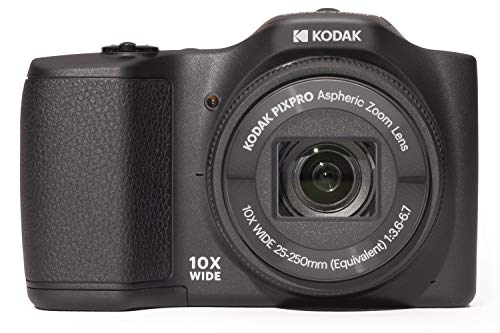Kodak FZ101 Pixpro Friendly Zoom Kompaktkamera (16MP, 10-fach opt Zoom, 25 mm Weitwinkel, 2,7 Zoll Display, Digitale Bildstabilisierung, 720p-HD-Video)