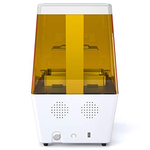 ZJRA Impresora 3D, SLA De Alta Precisión, Tapa Dura, Escritorio, Fotocurado, Resina, DLP, Impresora 3D, Oficina Doméstica Industrial, 120 * 65 * 138 Mm, Pantalla Táctil,