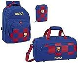 FC Barcelona - Mochila de deporte (tamaño XL, con 2 compartimentos)