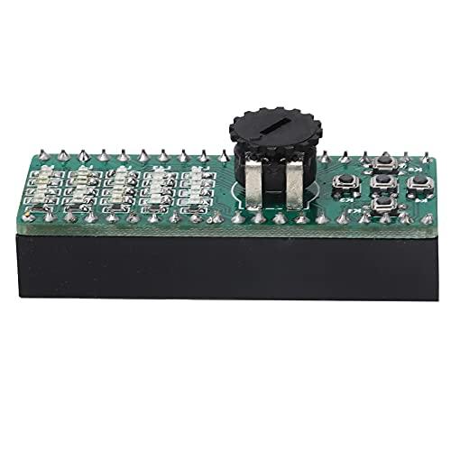 Heayzoki Módulo Adaptador de extensión de Placa de expansión GPIO para Accesorios de computadora Raspberry Pi Pico, módulo de expansión GPIO Incluye LED, Botones, Funciones básicas de ADC