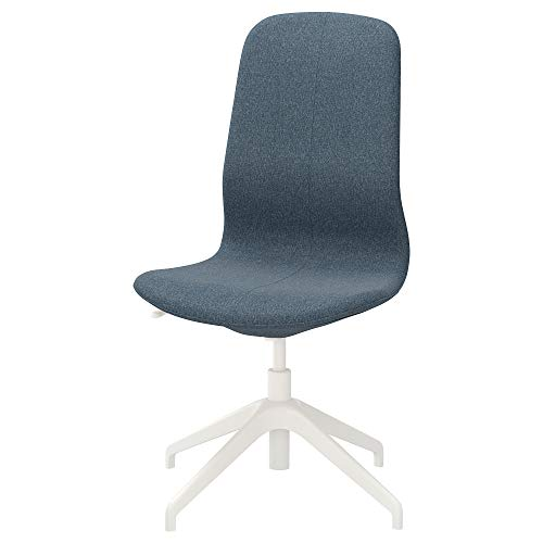 Ikea LANGFJALL Conference Chair, Gunnared Blue, White