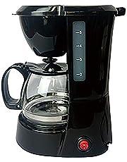 東京Deco コーヒーメーカー 保温機能付 ブラック 5杯用 ドリップ式 コーヒー メーカー 保温 ガラス i001