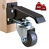 Workbench Casters - 4 Extra Heavy Duty Retractable...