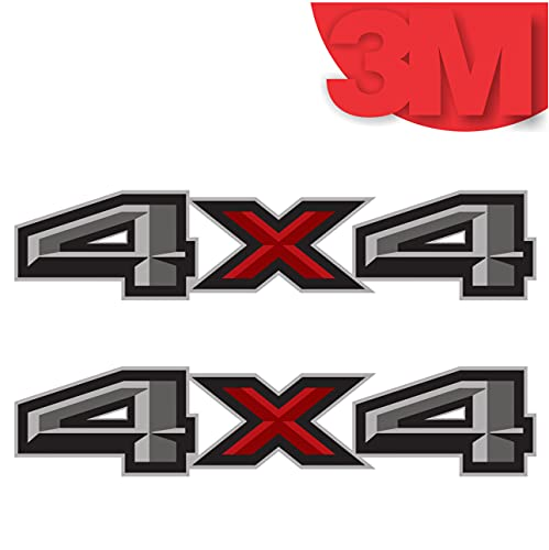 2017 Ford F150 4x4 Decal FG Offroad Stickers Truck Bed Side Graphics (Set of 2)