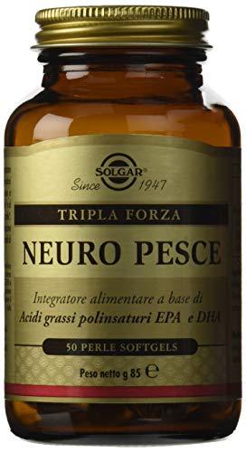 Solgar Neuro Pesce Integratore Alimentare, 4 x 85 gr