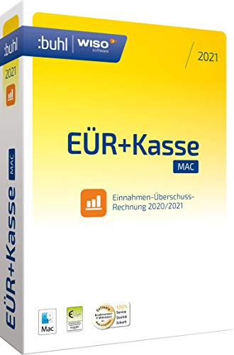WISO EÜR+Kasse 2021 Mac: Die Software für eine praktische Einnahmen-Überschuss-Rechnung