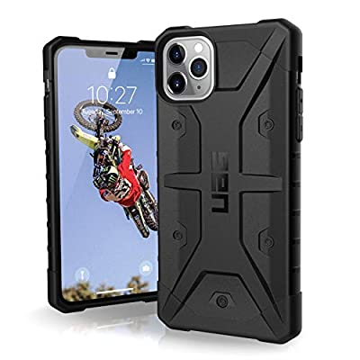 UAG Designed for iPhone 11 Pro Max [6.5-inch Screen] Pathfinder Feather-Light Rugged [Black] Military Drop Tested iPhone Case