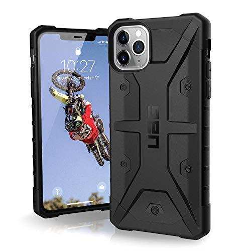 Urban Armor Gear Pathfinder Funda Apple iPhone 11 Pro Max (6.5') Carcasa Protector Case (Compatible con Carga Inalámbrica, Ultra Resistente Slim Cover) - negro