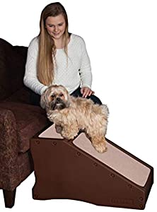 Pet Gear Stramp Stair and Ramp Combination, Dog/Cat Easy Step, Lightweight/Portable, Sturdy