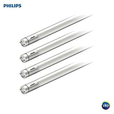 Philips LED MainsFit Ballast Bypass 4-Foot T8 Tube Glass Light Bulb: 1800-Lumen, 4000-Kelvin, 14 (32-Watt Equivalent), Medium Bi-Pin G13 Base