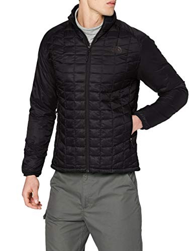 The North Face Sport Jacket Chaqueta Deportiva Thermoball, Hombre, Negro (TNF Black), L