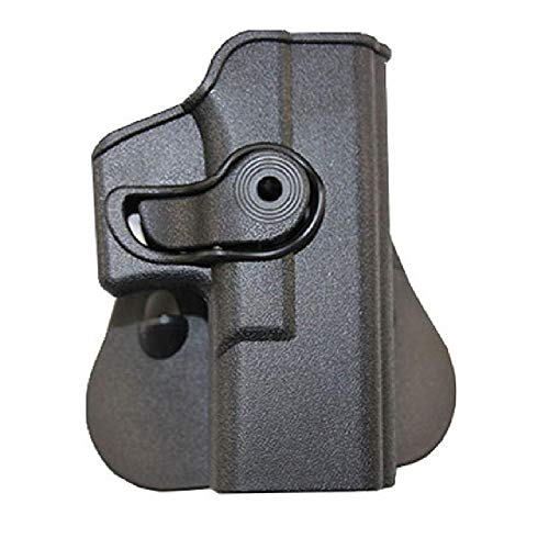 BGJ Funda táctica IMI para Pistola de Pierna caída para Glock 17 18 19 22 26 31Airsoft Muslo Funda de Pistola Adaptador de Paleta Accesorios de Caza
