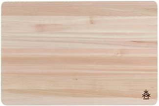 Hinoki Japanese Cypress Wood Cutting Board, Large