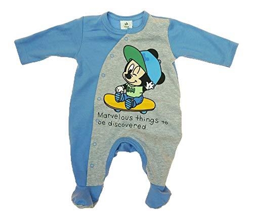 Kleines Kleid Mickey Mouse Strampler Baumwolle Farbe Modell 8, Größe 62