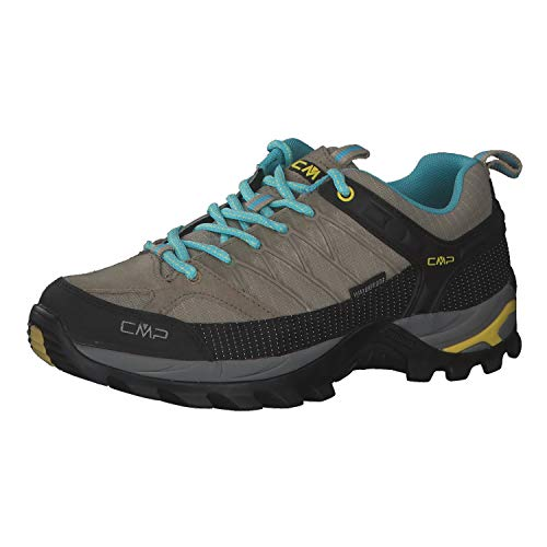 CMP Damen Trekking Schuhe Rigel Low 3Q54456 Corda-Lemon 39