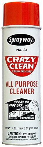 Sprayway SW031 Crazy Clean All Purpose Cleaner, 19 oz