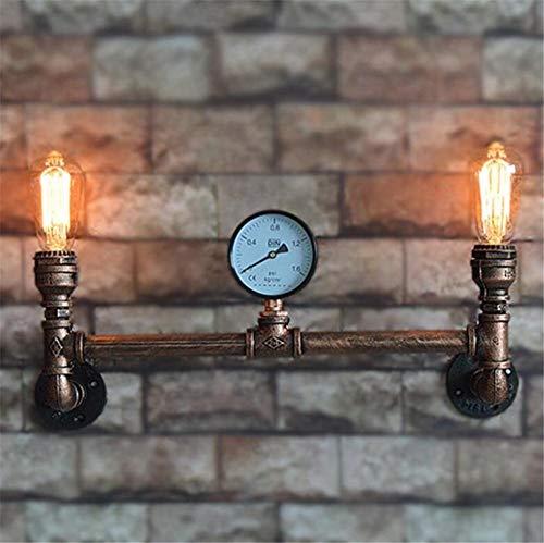 ZHENYUE Zhenyue wandlamp ® Industrial Vintage wandlamp wandlamp slaapkamer gang café bar ladder dubbele ladder smeedijzer
