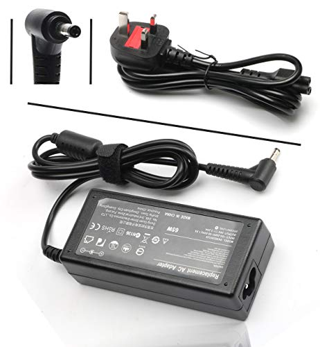 65W AC Adapter Charger for Lenovo IdeaPad S130 S340 S540 S740 S145-15AST IdeaPad 330 330s 320 320s 120s 130 310 510 520 530S V145 V155 Yoga 310 510 520 530 Flex 4 5 6 Miix 510 520 Power Supply Cord