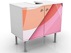 Apalis 54068 Waschbeckenunterschrank Miracle Structure, 60 x 55 x 35 cm
