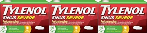 Top 10 Best tylenol sinus congestion and pain severe Reviews