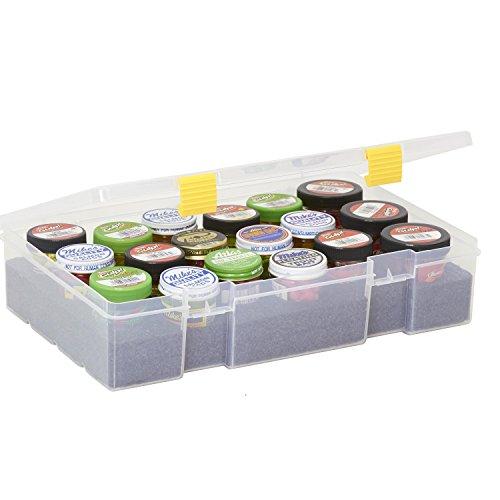 Plano Unisex-Erwachsene Bait Container, Clear ProLatch Köderbehälter Stowaway (3700), transparent, farblos, Einheitsgröße