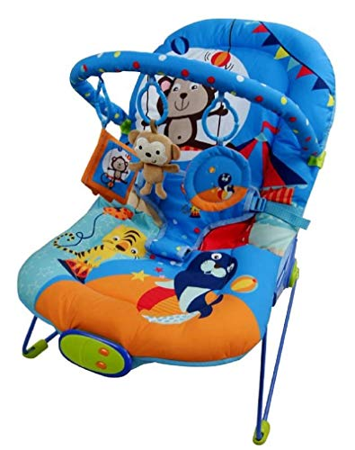 Just4baby Blue Circus Bouncer Mu...