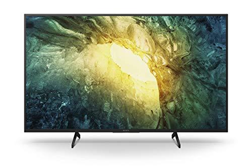 Sony KD-49X7055 Bravia 123 cm (49 Zoll) Fernseher (LED, 4K Ultra HD (UHD), High Dynamic Range (HDR), Smart TV, 2020 Modell) Schwarz