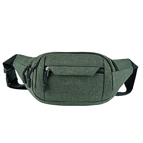 xiangqian Paquete de cintura unisex con 4 capas resistente al agua, correa ajustable duradera, cómoda para exteriores
