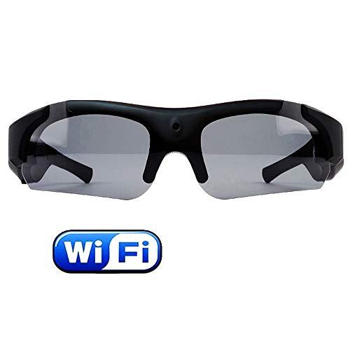TBYGG Rijbril, 1080 p, zonnebril, action camera, hoogwaardige zonnebril, met geïntegreerde camera, anti-condens, uv-bescherming, kleurrijke sport, videobewaking