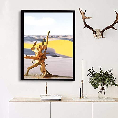 Santangtang poster en afdrukken op canvas wanddruk wooncultuur afbeelding van de woonkamer
