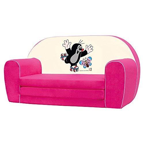 Bino licentie 78 x 42 x 36 cm kleine mol sofa (roze)