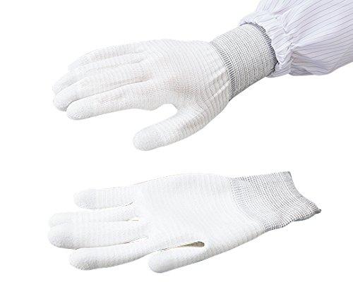 アズワン 導電ライナー手袋(手の平コート) S CAESD-350 1双 3-6419-04