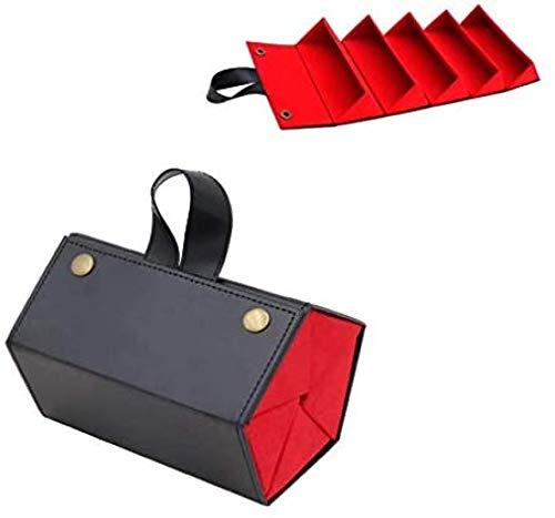 YANGYOU Estuche De Cuero para Almacenamiento De Gafas MúLtiples Caja De Almacenamiento Multifuncional, Estuche para Gafas, Estuche para Gafas