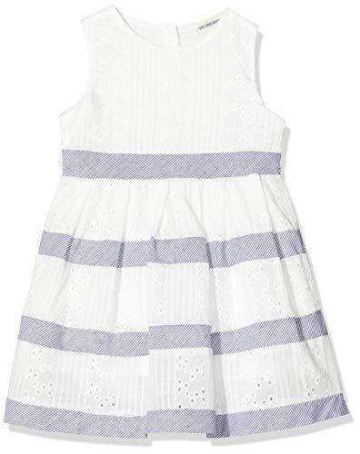 Salt & Pepper Baby-Mädchen 03233224 Kleid, Weiß (White 010), (Herstellergröße: 92)
