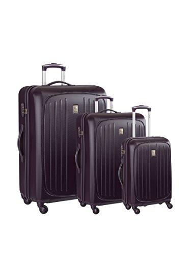 DELSEY Set de 3 trolleys rígidos Hydre Púrpura